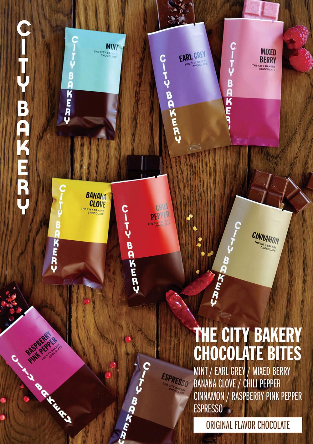 シティベーカリー チョコレートパッケージ / ポスター