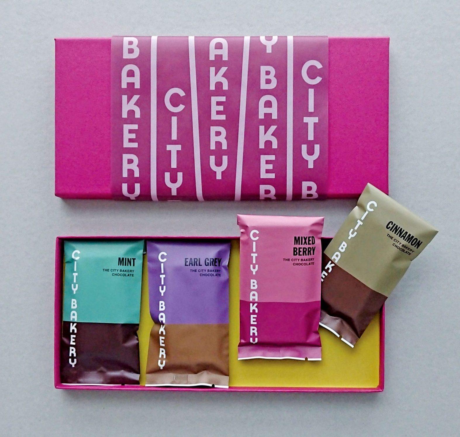 シティベーカリー チョコレートパッケージ